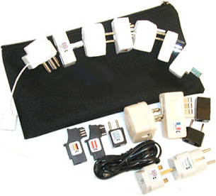 World Power Adapter Kit