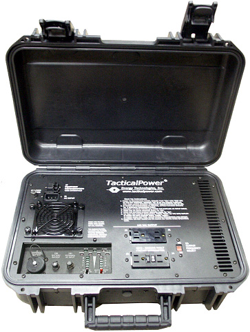Rugged Briefcase AC-DC/DC Power Conditioner/UPS